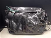 MICHAEL KORS Handbag JET SET PYTHON EMBOSSED SHOULDER BAG